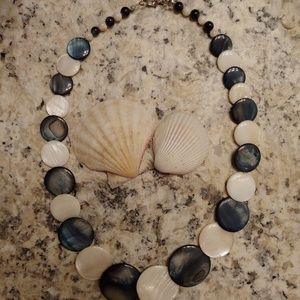 Opalescent necklace